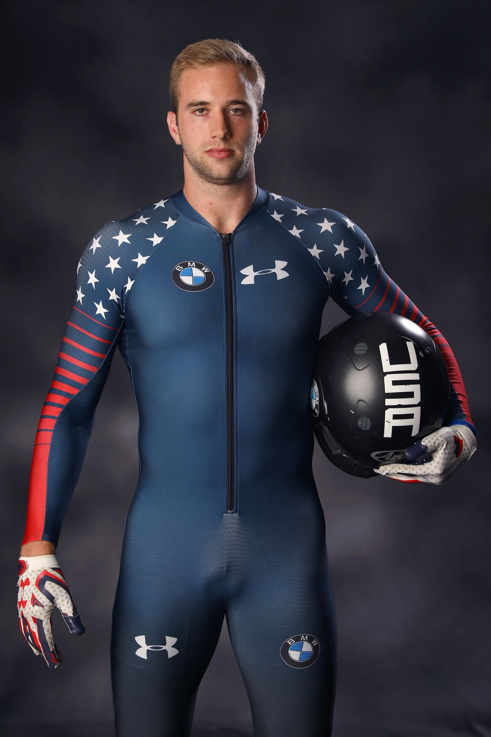 Evan Weinstock, USA The bobsledder poses for portraits ahead of the 2018 Games.
