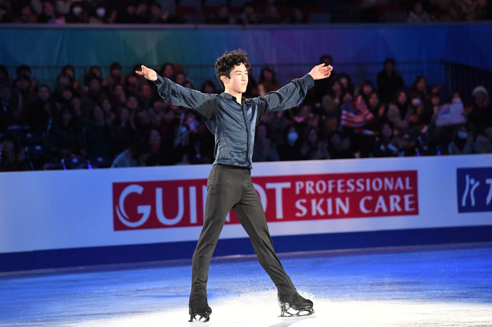 Nathan Chen, USA The figure skater at the Grand Prix of Figure Skating final in December.