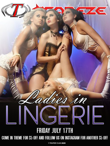 Ladies In Lingerie at Trapeze Swingers Club South Florida