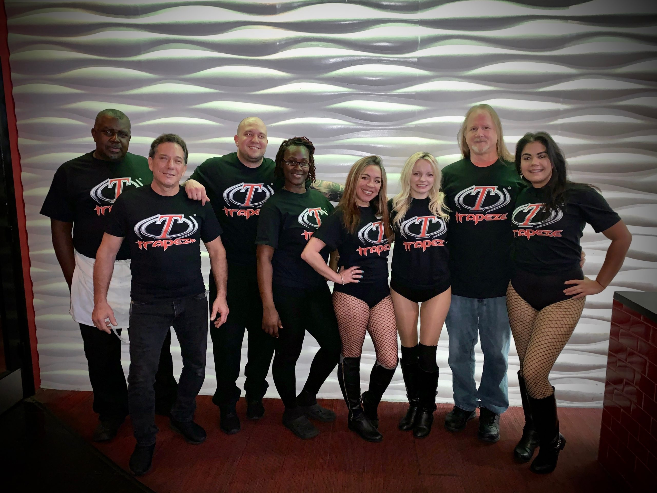 Trapeze Club South Florida Staff standing together smiling