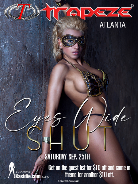 Eyes Wide Shut at Trapeze Swingers Club South Florida and Atlanta