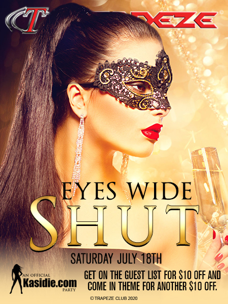 Eyes Wide Shut at Trapeze Swingers Club South Florida
