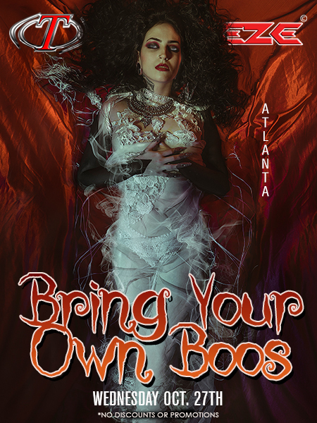 Bring Your Own Boos at Trapeze Swingers Club Atlanta and South Florida