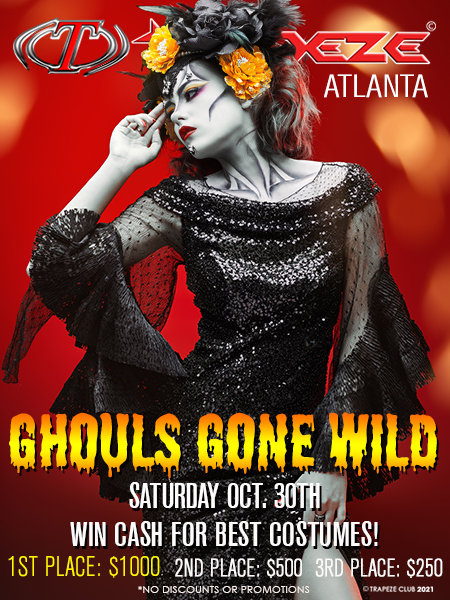 Goblins Gone Wild at Trapeze Swingers Club Fort Lauderdale, Florida and Atlanta