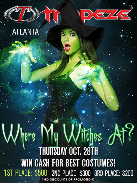 Where My Witches At at Trapeze Swingers Club Fort Lauderdale, Florida and Atlanta