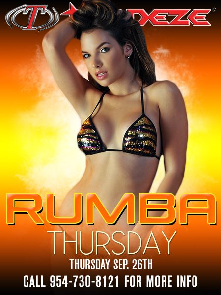 Rumba Thursday 9-26